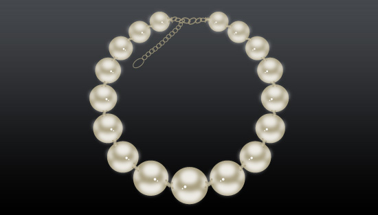 How to make Necklace in Adobe Illustrator